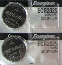 Energizer ECR 2025 CR 2025 (2 piece) Lithium 3V Battery New Authorized Seller