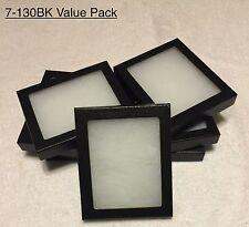 "7-130 Riker Mount Display Case Shadow Box Frame Tray   5"" X 4"" X 3/4"""
