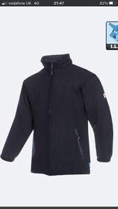 SIOEN Dampremy Fire Retardant Fleece PPE Jacket New .Size L. Navy blue.