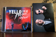 Yello LIVE At MONTREUX JAZZ FESTIVAL 2017 2CD w/booklet & postcard Toy/Point