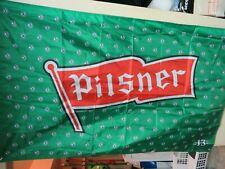Pilsner Saskatchewan  Roughriders Flag 3ftX5ft