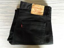 Men's Levi Strauss & Co. 751 Straight Fitting Black Jeans W34 L32