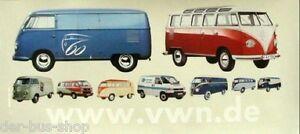 VW Bus - 60 Jahre Treffen Hannover 2007 - Mitarbeiter-Aufkleber - 44 x 20 cm