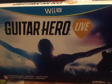 Guitar hero live Wii u (bundle gioco + chitarra) nuovo imballato