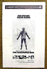 """THE ILLUSTRATED MAN"" -- Ray BRADBURY'S thriller -- 1969 UNCUT 16 page pressbook"