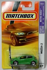 MAZDA 2 * 2008 MATCHBOX * BRIGHT LIME GREEN VARIATION FIRST EDITION