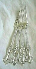 "SINGLE VINTAGE REED & BARTON MARLBOROUGH STERLING SILVER 7 1/8"" DINNER FORK USED"