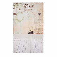 3x5ft Vinyl Background Wall Wood Floor Baby Photography Backdrops Studio Props