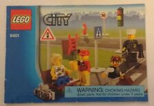 2009 LEGO City Minifigure Collection (8401) INSTRUCTION MANUAL ONLY