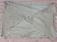 Original Vietnam Era US Army Military Pup Tent Shelter Half 1961 Dated