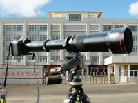 650-1300mm f/8-16 Telephoto Zoom Lens for Canon Rebel SL1 T3 T3i T5 T5i Cameras