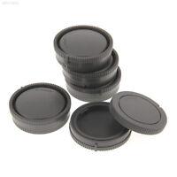FD78 5PCS/Lot Plastic Rear Lens Cap Camera Body Cover For Sony NEX-5N NEX-3