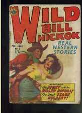 Wild Bill Hickok # 3 reader copy fair/good 1950 Avon Publishing CBX5