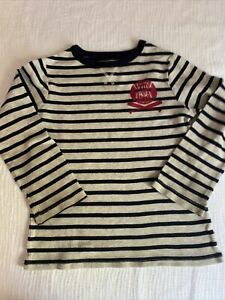 Boys Crew Neck Striped Long Sleeves Size 5t The Children Place