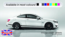 Mercedes C63 AMG Side Stripes HIGH OEM QUALITY Fits 3 & 5 Door models