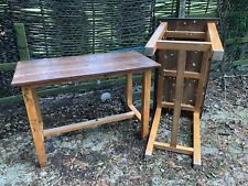 More details for school science desks tables beech legs mahogany tops 46