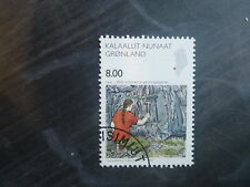 2006 GREENLAND SCIENCE USED STAMP