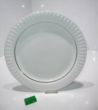 Speiseteller 24 cm Teller THOMAS Lanzette Platinband weiss Platin