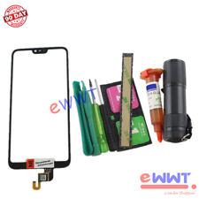 Replacement Black Touch Screen Glass +UV Glue for Nokia X6 2018 6.1 Plus ZJLU714