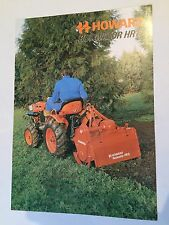 HOWARD Rotavator HR8 for Compact Tractor Original 1970s Vintage Sales Brochure