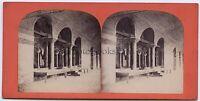Turchia Sainte-Sophie Costantinopoli Foto Stereo Abdullah Fratelli c1865 Vintage