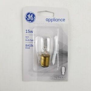 GE 15w Appliance BA15d Base Specialty T7 DC Bay Base Bulb 35154