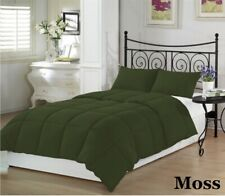 Home Linen Down Alternative Comforter 200 GSM Moss Solid King Size