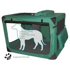 "Pet Gear Generation II Deluxe Portable Soft Dog Crate 42"" Moss Green PG5542MG"