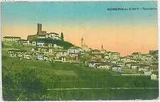CARTOLINA d'Epoca ASTI provincia - Mombercelli D'Asti B1930