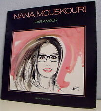 """33 tours Nana MOUSKOURI Disque LP 12"""" PAR AMOUR 1987  PHILIPS 832929-1  F Réduit"""