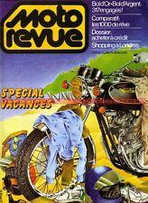 MOTO REVUE 2424 YAMAHA XS 1100 HONDA CBX 1000 SUZUKI GS Godier Genoud MARTIN
