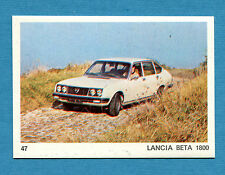 AUTO E MOTO - Figurina-Sticker n. 47 - LANCIA BETA 1800 -New