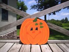Happy Face Pumpkins Fall Halloween Yard Art Decoration -- 6 Designs