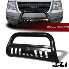 For 2004-2018 Ford F150 Non-Ecoboost Black Hd Bull Bar Brush Bumper Grille Guard