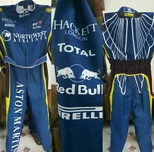 ASTON MARTIN GO KART RACE SUIT CIK/FIA LEVEL 2 APPROVED WITH FREE GIFTS INCLUDED