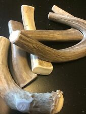 1 pound of Small/Medium Deer Whole Antler Dog Chew Mix-All Natural-Great Buy