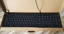 Dell KB216-BK-GER QWERTZ Tastatur Keyboard deutsch USB-Kabel schwarz NEU + OVP