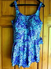 Maxine Of Hollywood One Piece Swimsuit Plus Size 22W Runs Small