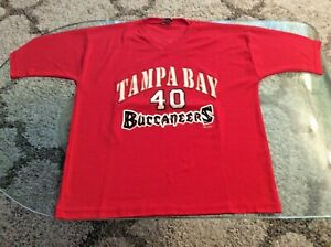 Tampa Bay Buccaneers Mike Alstott Red Jersey Adult Extra Large XL 1999