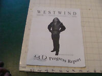 original Sci Fi paper(s): WESTWIND feb 1997; #216 northwest sci fi society 32pgs