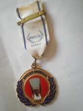 UNICEF MARCH 1993 MEDAL badge pin UN United Nations Africa