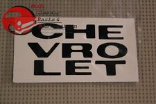 69 70 Chevy Truck Grille Letter Decals New FREE SHIPPING
