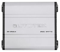 Autotek SS2500.4 Super Sport 2500w 4-Channel Car Audio Amplifier Class A/B Amp