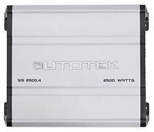 Autotek SS2500.4 Super Sport 2500w 4-Channel Car Audio Amplifier Class A/B Amp