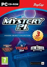 Mystery PI Triple Pack Hidden Object Collection - PC CD ROM NEW & SEALED