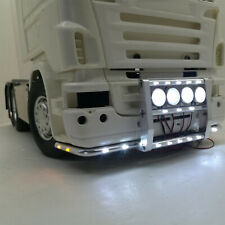 Für 1:14 Tamiya Scania 56323 620 730 RC Crawler Front Bumper Licht Bar Aluminum
