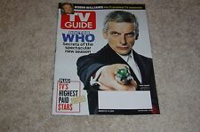 DOCTOR WHO * PETER CAPALDI * ROBIN WILLIAMS August 25 2014 TV GUIDE MAGAZINE