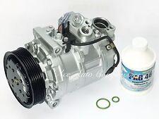 A/C Compressor For Audi 2002-2006 A4 A6 & Quattro  1.8L, 3.0L OEM Reman Yr Wrty
