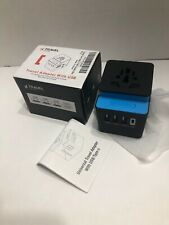 Universal 4 Usb International Travel Wall Charger Adapter Power Converter C32