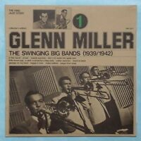 GLENN MILLER ~ SWINGING BIG BANDS VOL. 1 ~ 1974 ITALIAN 12-TRACK VINYL LP RECORD